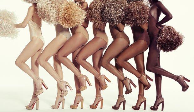"""İkonik """"nudes"""" ayakkabı koleksiyonu"""