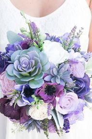 Sukulent gelin çiçekleri çok moda!