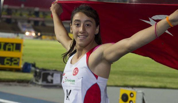 17 yaşındaki Mizgin Ay Atletizm dünya şampiyonu