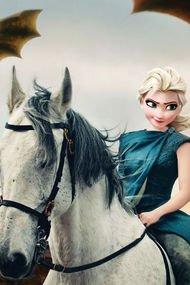 Disney karakterleri Game of Thrones'ta oynasaydı...