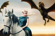 Disney karakterleri Game of Thrones'ta oynasaydı