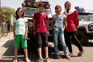 30 gün yolculuk yapan çocuklar