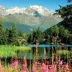 Mont Blanc'ın eteklerinde...