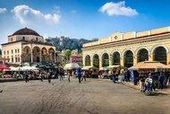 Atina'nın kalbi Monastiraki