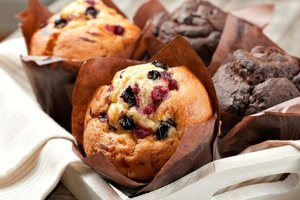 Turna yemişli muffin  - Turna yemişini muffine katmaya ne der...