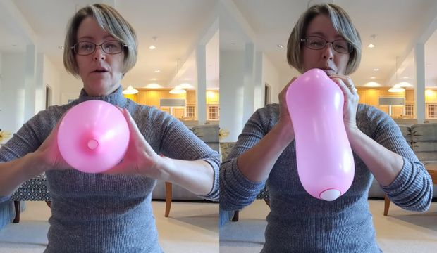 Doğumu bir balonla anlamak!