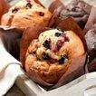 Turna yemişli muffin