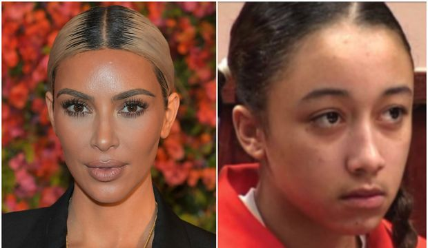 Kardashian genç kıza sahip çıktı