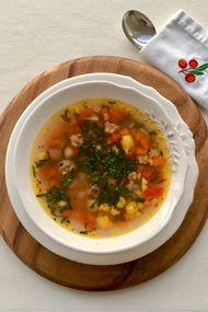Tavuklu karnabahar çorbası