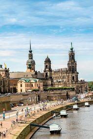 Yeniden, 'eski' haline gelen şehir: Dresden