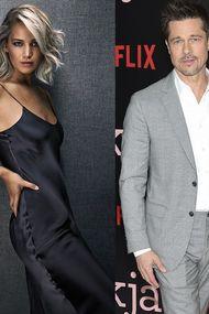Brad Pitt ile Jennifer Lawrence aşk yaşıyor mu?