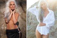61 yaşında bir model: Yazemeenah Rossi