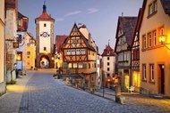 Almanya'nın en masalsı şehri Rothenburg ob der tauber
