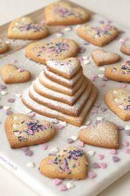 Limonlu sable bisküviler