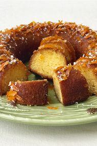 Portakal şerbetli kek