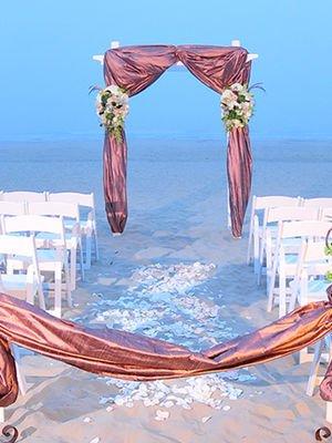 Sahil düğünü organizasyon fikirleri