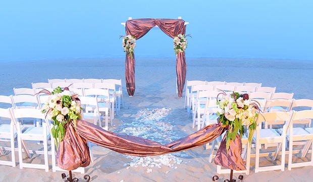 Sahil düğünü dekorasyon fikirleri