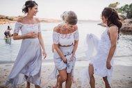 Sahil düğününde ne giyilir?