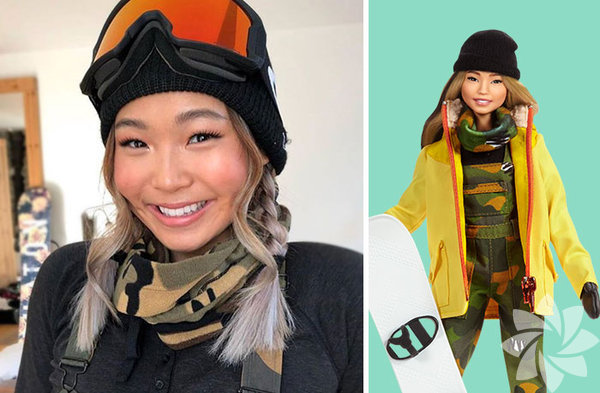 Chloe Kim, Snowboard şampiyonu