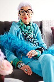 En yaşlı moda ikonu: Iris Apfel