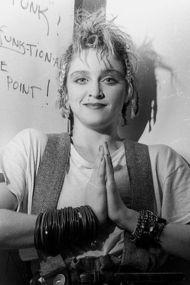 Daha önce görülmemiş bir Madonna